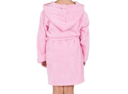 """Детский махровый халат с капюшоном, розовый, р. 36 """"ЭГО"""""""