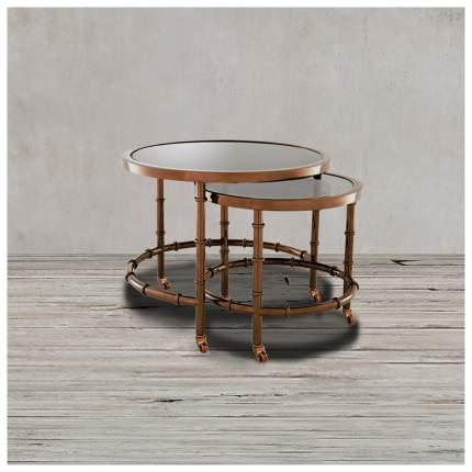 Кофейный столик ROOMERS 44х55х55 см, коричневый