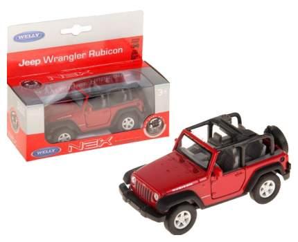 Welly 42371 Модель машины 1:34-39 Jeep Wrangler Rubicon