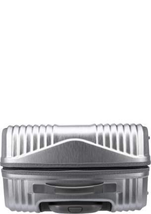 Чемодан унисекс Verage GM-17072W 24 brushed silver, серебряный