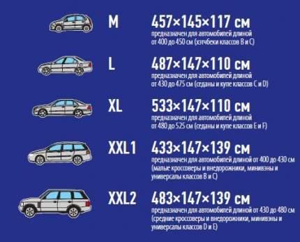 Тент автомобильный sparco SPC/COV-700 BL XXL1 XXL1 SCRM11-RT