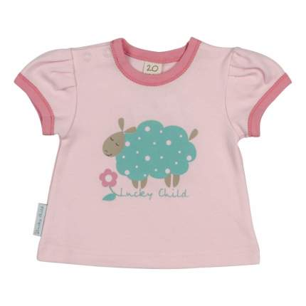 Комплект футболок 3 шт Lucky Child Бирюзовый р.98
