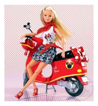 Кукла Simba Штеффи Minnie Mouse на мопеде 20 см