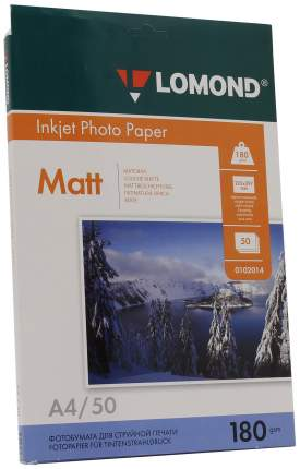 Фотобумага для принтера A4 Lomond 0102014