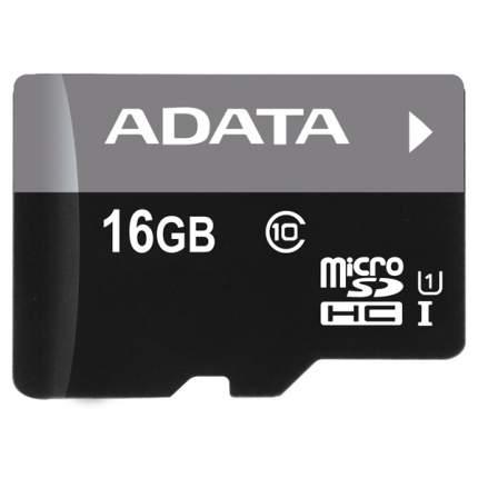 Карта памяти ADATA Micro SDHC Premier AUSDH16GUICL10-R 16GB