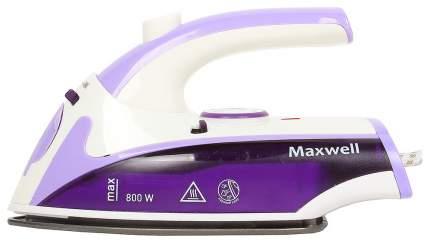 Утюг Maxwell MW-3057 VT White/Purple