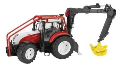 Трактор Bruder Steyr CVT 6230 лесной с манипулятором