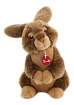 Мягкая игрушка Trudi Заяц Марселло, 30 см