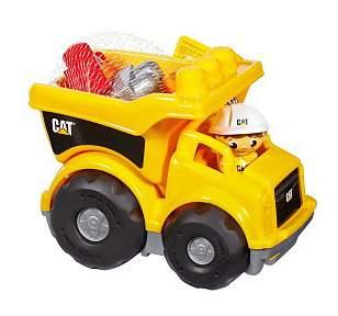 Машинка Mega Bloks Грузовик CAT CND88