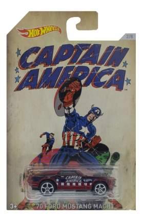 Машинка Hot Wheels Капитан Америка DJK75 DJK83