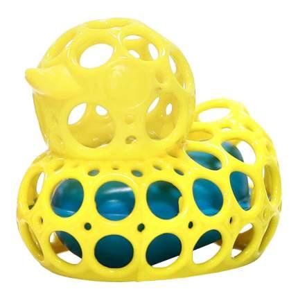 "Oball игрушка для ванны ""уточка"" желтая"
