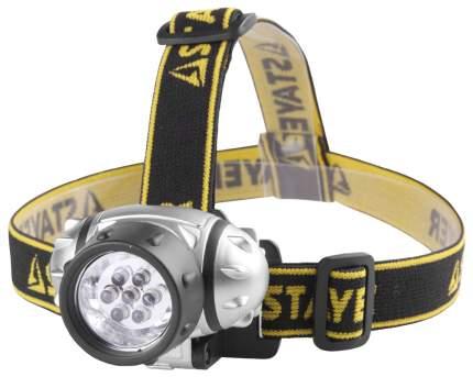 Туристический фонарь Stayer Standard серебристый/черный, 3 режима