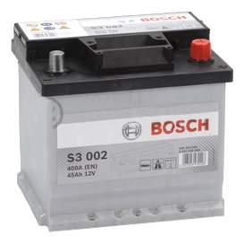 Аккумулятор автомобильный BOSCH S3 0 092 S30 020 45 Ач