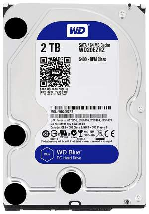 Внутренний жесткий диск Western Digital Blue 2TB (WD20EZRZ)