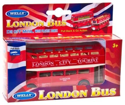 Коллекционная модель Welly London Bus открытый 99930C