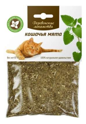 Лакомство для кошек Деревенские лакомства Кошачья мята, 15г