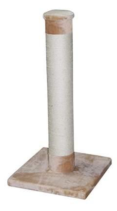 Когтеточка MAJOR, столбик большой, бежевый, 115х56х56см