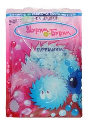 Наполнитель для туалета Shurum-Burum силикагелевый, Комкующийся 15 л