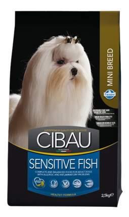 Сухой корм для собак Farmina Cibau Adult Mini Sensitive, рыба, 2,5кг