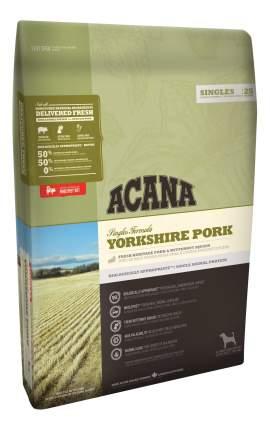 Сухой корм для собак ACANA Singles Yorkshire Pork, свинина, 0,34кг
