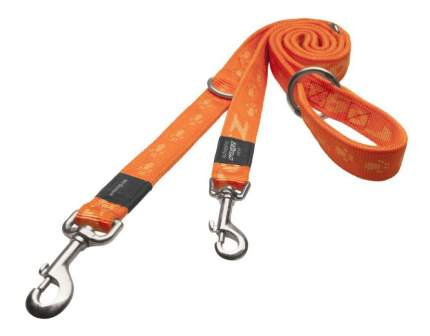Поводок перестежка для собак Rogz Alpinist M-16мм 1,8 м, Оранжевый HLM23D