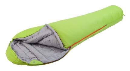 Спальный мешок Trek Planet Yukon зеленый, левый