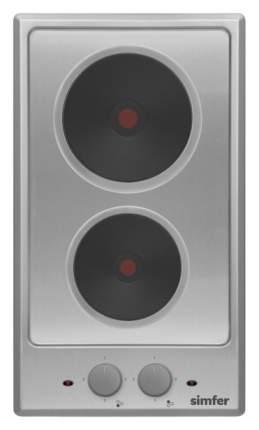 Встраиваемая варочная панель электрическая Simfer H30E02M011 Silver