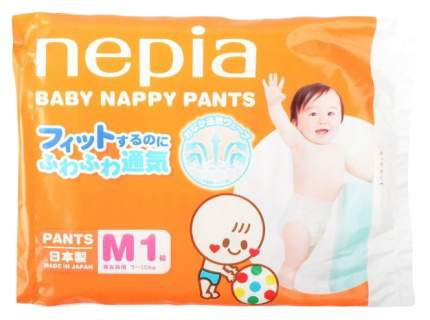 Подгузники-трусики Nepia Baby Nappy M (7-10 кг), 1 шт.