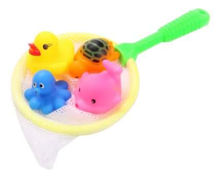 Игрушка для купания Shantou gepai 4 игрушки и сачок