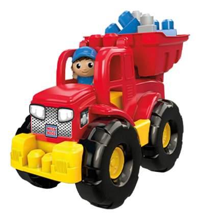 Машинка пластиковая Mattel Mega Bloks Грузовик-трансформер с конструктором