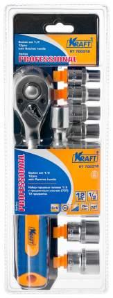 Набор торцевых головок KRAFT 12 предметов (KT 700318)
