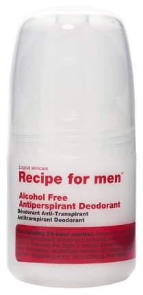 Дезодорант Recipe for men Alcohol Free Antiperspirant Deodorant 60 мл