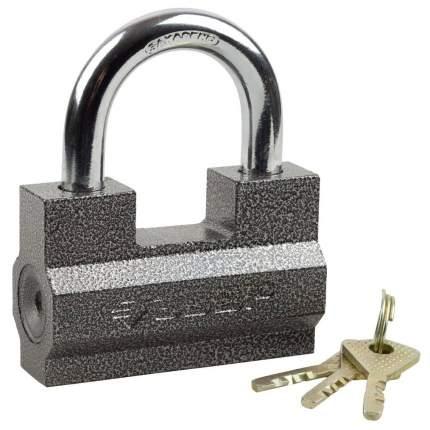 """Замок Зубр """"МАСТЕР"""" навесной, ключ 7 """"пинов, 85х55мм"""
