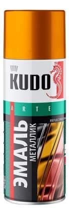 Эмаль универсальная золото KUDO ,520 мл