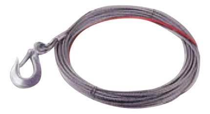Трос для лебедки COMEUP С крюком 4.8мм 880230