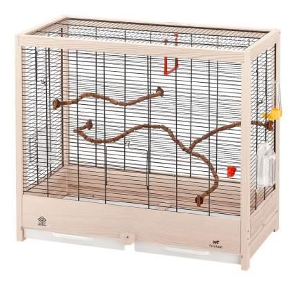 Ferplast Клетка Giulietta 5 Nera для птиц, 69x34,5x58 см