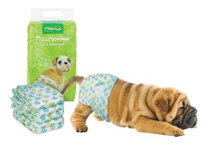 Подгузники для домашних животных Triol, 15-22 кг, размер L, 10 шт.