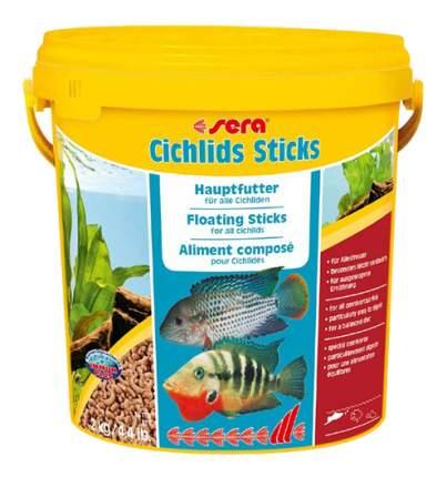 Корм для цихлид Sera Cichlid Sticks, палочки, 10 л