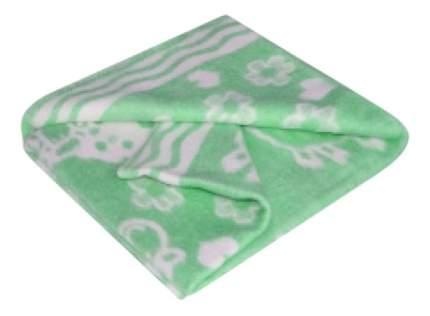 Одеяло Ермолино байковое х/б 100x132 зелёный 57-2ЕТЖ