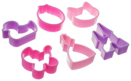 Набор для выпечки Tescoma Delicia 630920 Фиолетовый; Розовый