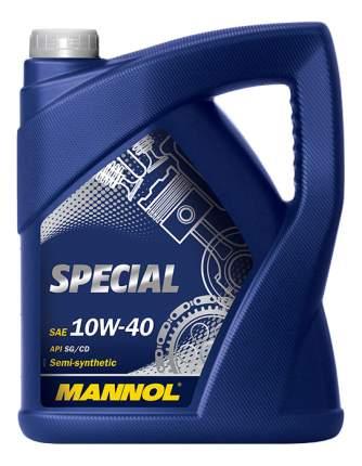Моторное масло Mannol Spesial 10W-40 5л
