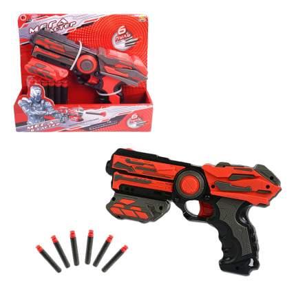 МегаБластер ABtoys в наборе с 6 мягкими снарядами