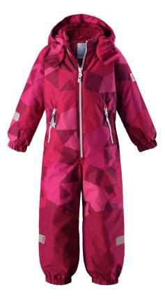 Комбинезон Reima Reimatec Kiddo winter overall Snowy розовый с принтом р.92