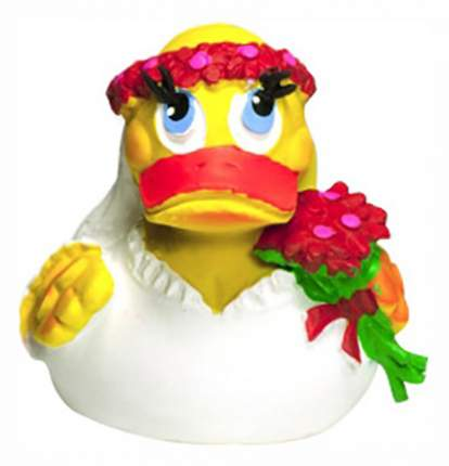 Игрушка для купания Lanco Утка невеста