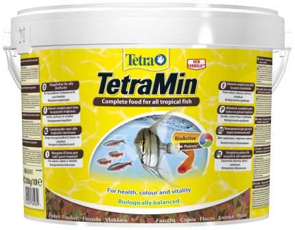 Корм для тропических рыб Tetra Min, хлопья, 10 л