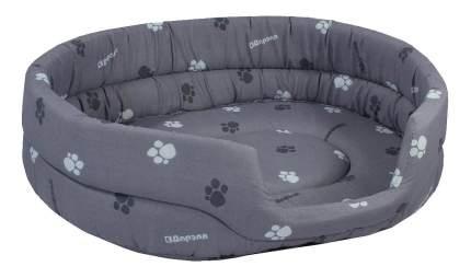 Лежанка для кошек и собак Дарэлл 51x64x17см серый