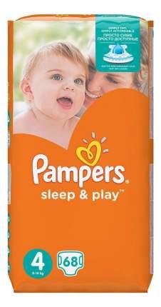 Подгузники Pampers Sleep&Play 4 maxi 7-18 кг 68 шт.