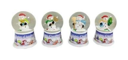 Снежный шар Новогодняя сказка Снеговик 4,5 см 972994