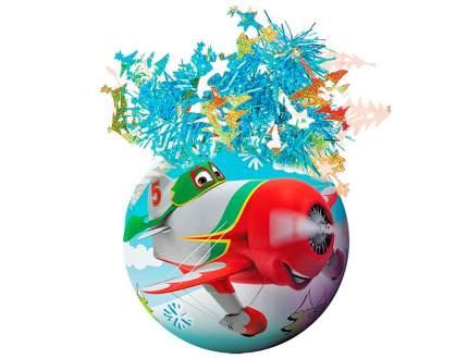 Пластиковый елочный шар Самолеты - Дасти и Эл Чупакабра 95 мм Ш95040