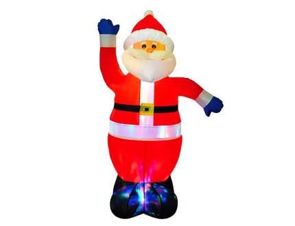 Надувная фигура Дед Мороз 1.8 м с разноцветной подсветкой DWF146-S7